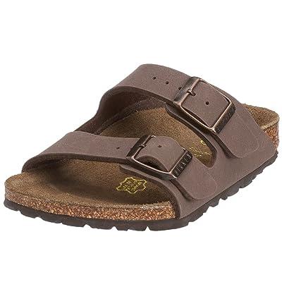 Birkenstock Arizona Sandal - Men's Mocha Birkibuc, 42.0 | Slides