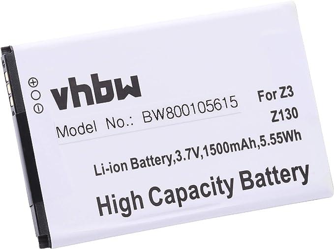 vhbw batería 1500mAh (3.7V) para Smartphone teléfono móvil Acer ...