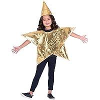 Amscan Christmas Nativity Star Costume Unisex Fancy Dress - 4-8 Years