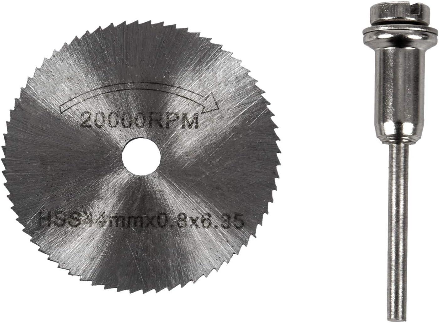 US 7 PCS HSS Circular Saw Disc Set Mini Drill Rotary Tool Cutting Blade Kit AAA
