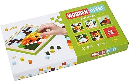 Wise Elk Wooden Mosaics Pixels Space 250 pcs
