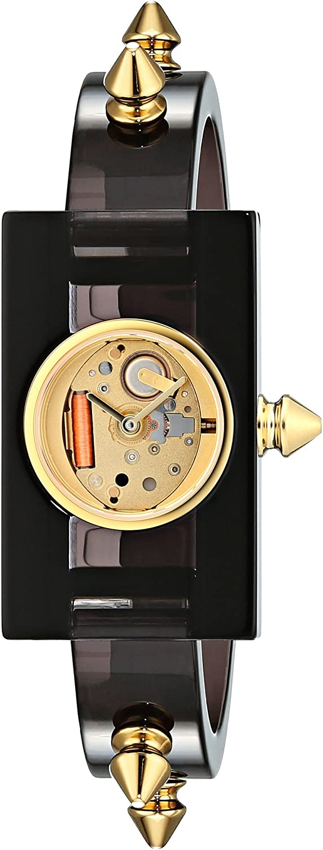Gucci Reloj Analógico para Mujer de Cuarzo con Correa en Plstico YA143508