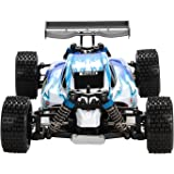 RC Car, FSTgo A959 Blue High Speed 32MPH 4x4 Fast Race Cars 1:18 RC SCALE RTR Racing 4WD ELECTRIC POWER Crawlers W/2.4G Remote control Off Road Car RC Truck For Adult and Kids
