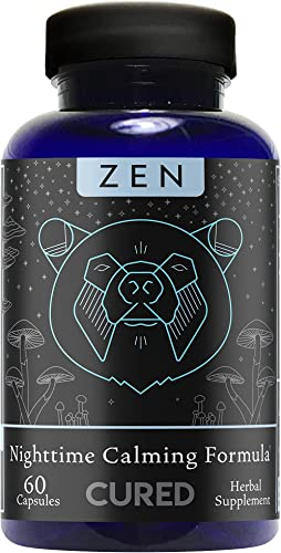 Cured Nutrition Zen Calming Formula Sleep Aid