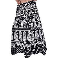 Wevez? Pack of 3 Pcs Cotton Long Wrap Around Skirts
