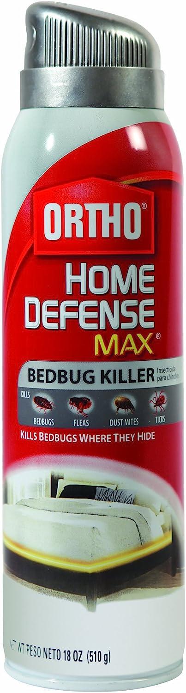 Ortho Home Defense MAX Bedbug Killer Aerosol Spray, 18-Ounce(Older Model)