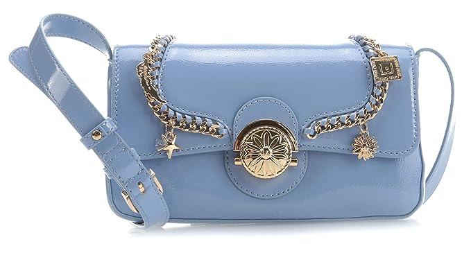 3c760de7c1 Liu Jo Sovrana Shoulder bag light blue: Amazon.co.uk: Clothing