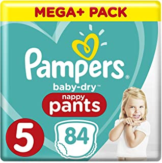 x82 culottes Pampers Baby Dry Pants - Mega Pack Couches-culottes Taille 4 9-15 kg