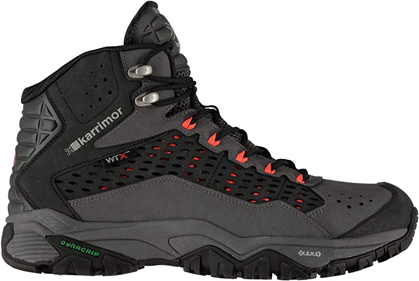 Karrimor Leopard WTX Walking Boots Ladies Laces Fastened Ventilated Water