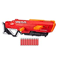 Nerf Mega AccuStrike - Thunderhawk Blaster - Extends to Over 1m - Inc 10 Darts & Dart Clip - Ages 8+