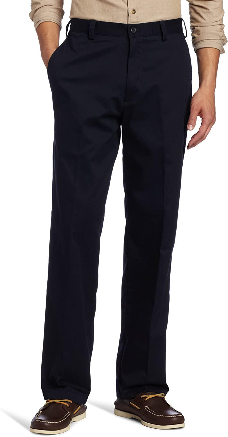 IZOD Mens American Chino Flat Front Classic Fit Pant