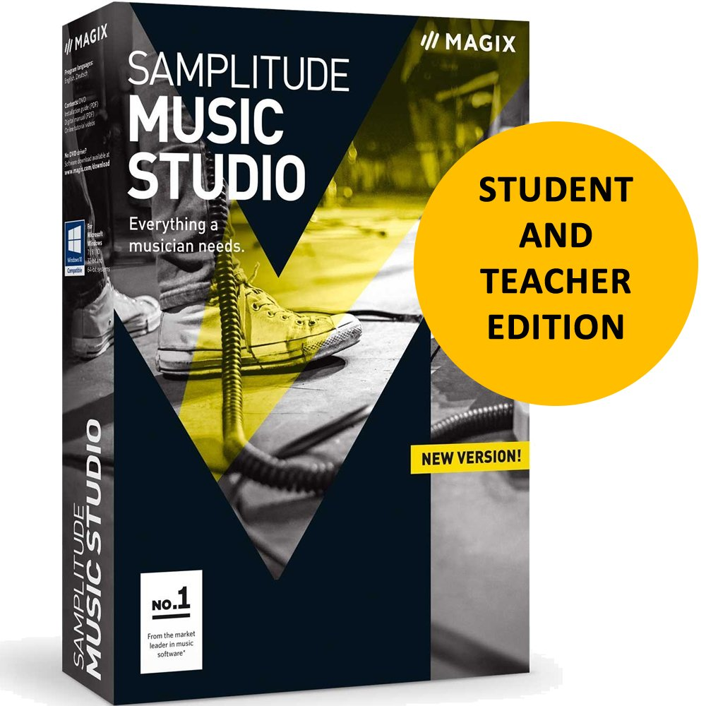 Magix Samplitude Music Studio 2017 for Students & Teachers by Genesis MGX