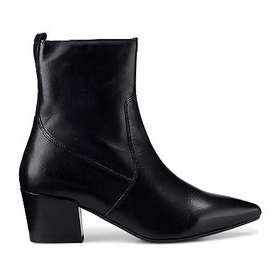26f3be1e8b5ef0 Cox Damen Damen Trend-Stiefelette aus Leder