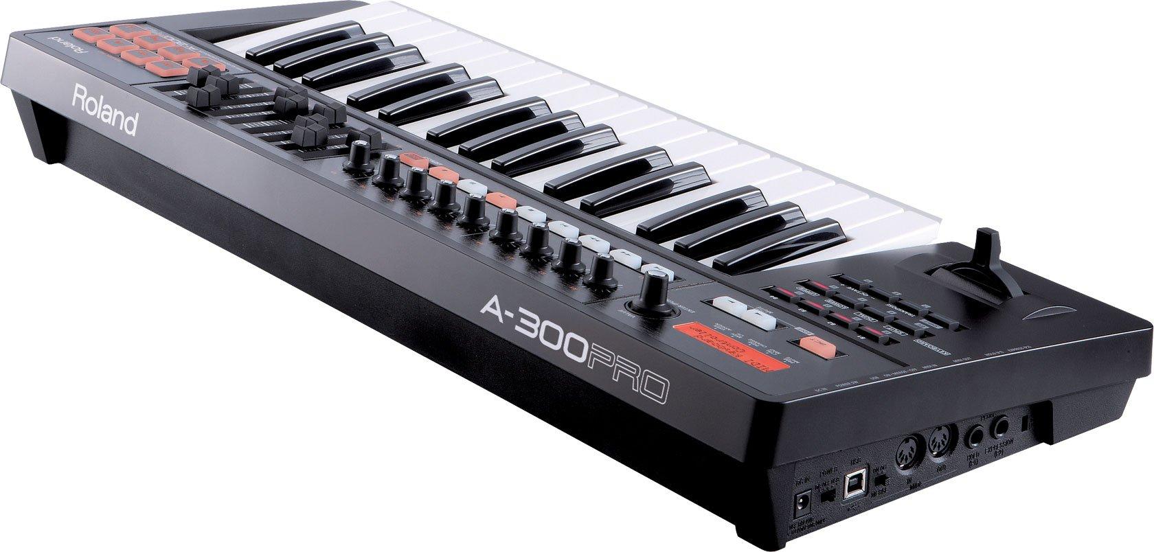 Roland 32-key MIDI Keyboard Controller, black (A-300PRO-R) by Roland (Image #3)