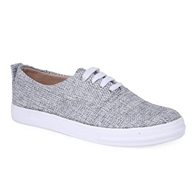 Buy Sainex Casual Shoes for Girls Grey
