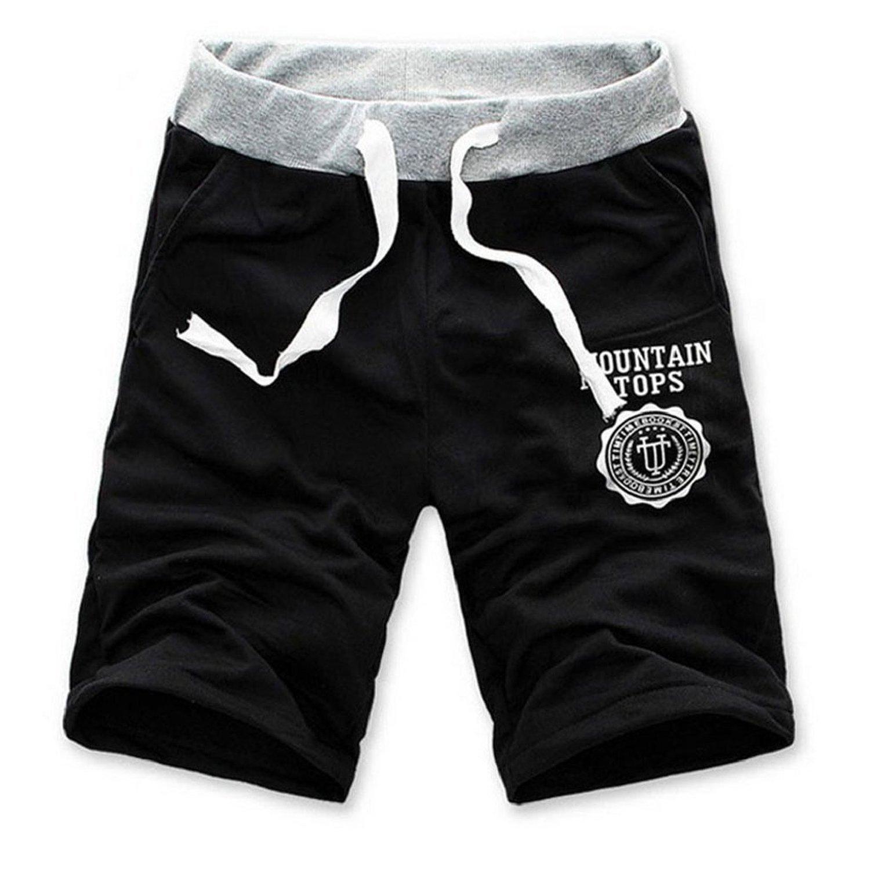 e4223fb4da on sale Minetom Hombres Pantalones Cortos De Deportes Casual Gimnasio  Formación Pantalones Moda Suelto Pantalones