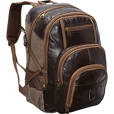 R & R Collections Laptop Backpack (Brown) best
