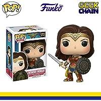 Boneca Movies DC Wonder Woman, Funko Pop