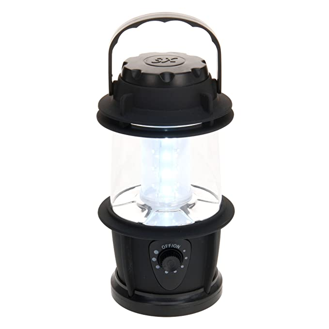 Faltbar | Mini Camping-Leuchte Faltbare Zelt-Laterne//Licht Leichtgewicht von118g CSL-Computer Brandson LED Campinglampe batteriebetrieben A+ energieeffizient
