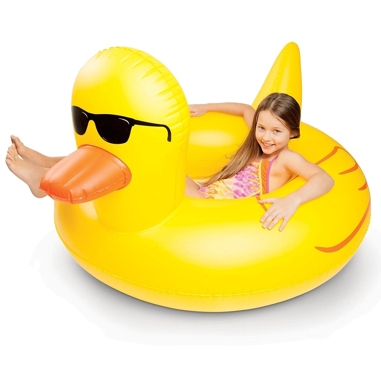 Pato de goma gigante piscina flotador: Amazon.es: Bricolaje y herramientas