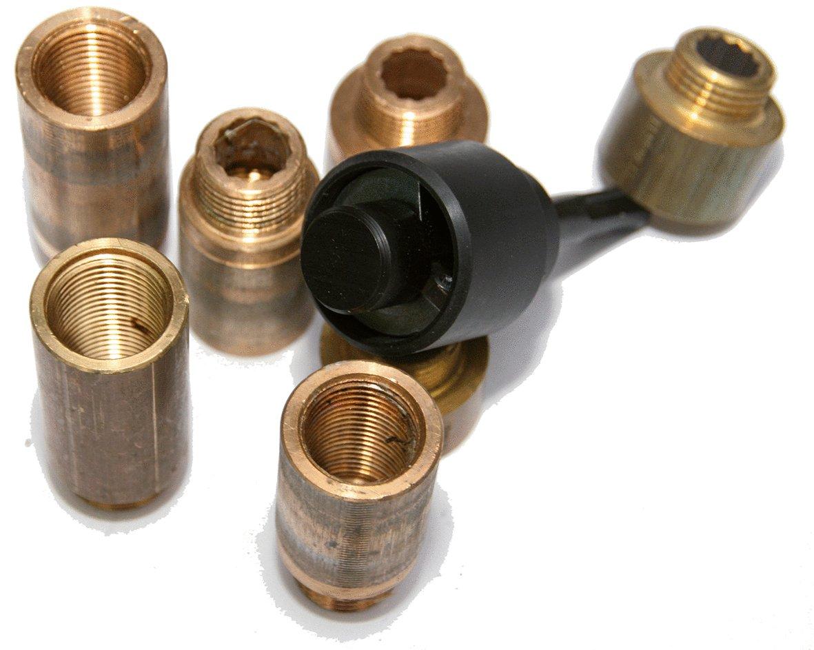 KS Tools 116.2036 1//2 Hahnverl/ängerungsfr/äser SDS-Aufnahme