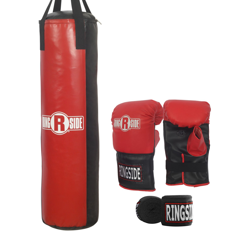 Ringside 50 lb Adult Boxing Heavy Punching Bag Kit by Ringside