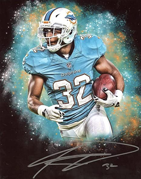 Kenyan Drake Miami Dolphins Edit Signed Autographed 8x10 Photo Wcoa