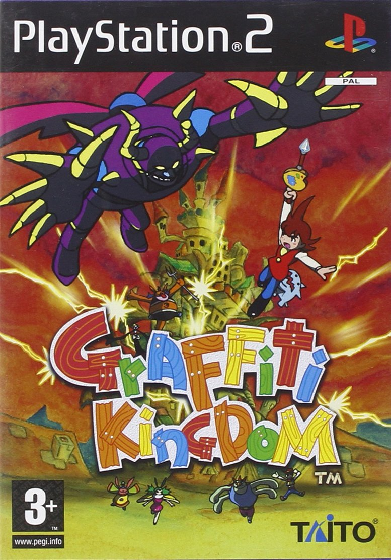 Graffiti kingdom ps2 amazon co uk pc video games