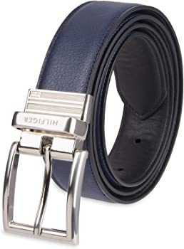 Tommy Hilfiger Reversible Leather Belt (various sizes & colors)