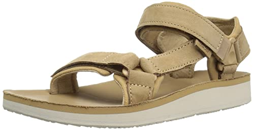 3d04ab31bafe61 Teva Women's W Original Universal Premier-Leather Sandal, Tan, ...