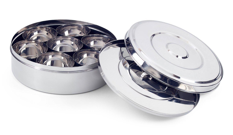 King International Stainless steel Spice Box Set (Set of 9 Pieces) KI-SBS-S9-02