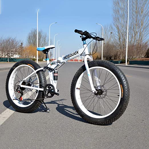 Dapang Bicicleta de montaña Plegable de 24