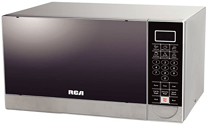 Amazon.com: RCA 1.1 pies cúbicos Acero Inoxidable Horno de ...