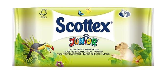Scottex Junior Papel Higiénico Húmedo - 42 servicios: Amazon.es: Amazon Pantry