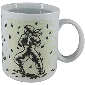 [Iroha-Do Works] NINJA Heat Color Change Mug Cup (Leaf)