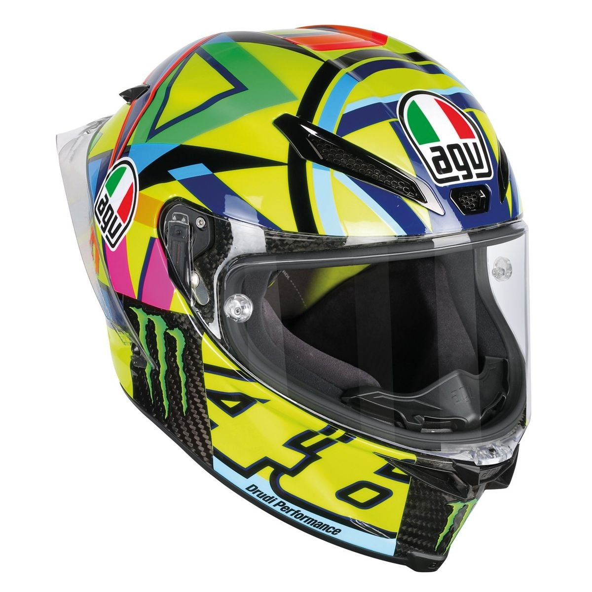 AGV Unisex-Adult Pista GP R Helmet-Soleluna 2016 (Large) (Multi