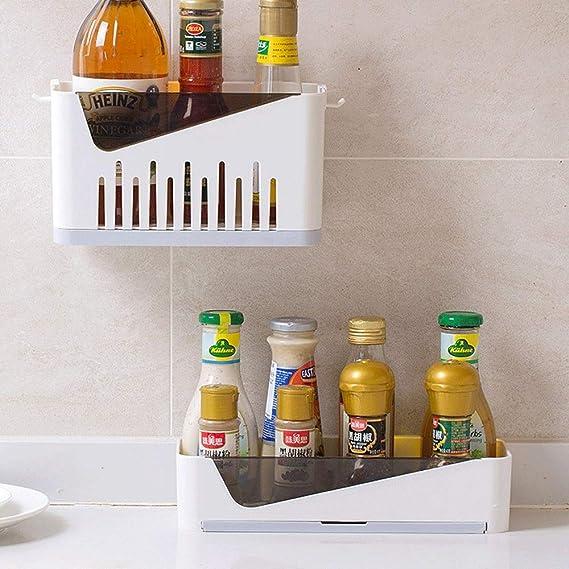 Amazon.com: LTIEY - Perchero de baño con bandeja de drenaje ...