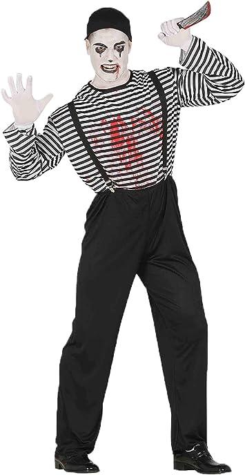 Disfraz de mimo asesino: Amazon.es: Juguetes y juegos