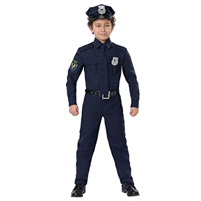 Police Costume for Kids Cop Costume Kids: Clothing