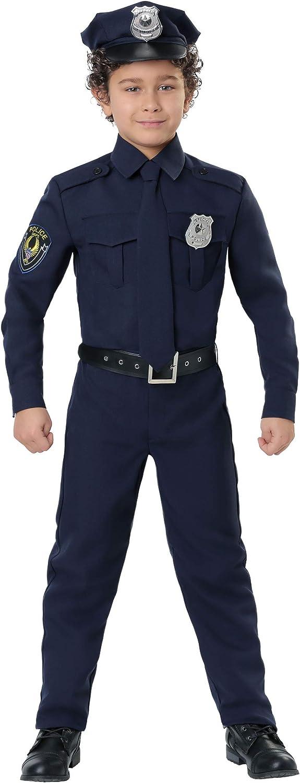 Amazon.com: Disfraz de policía para niños: Clothing