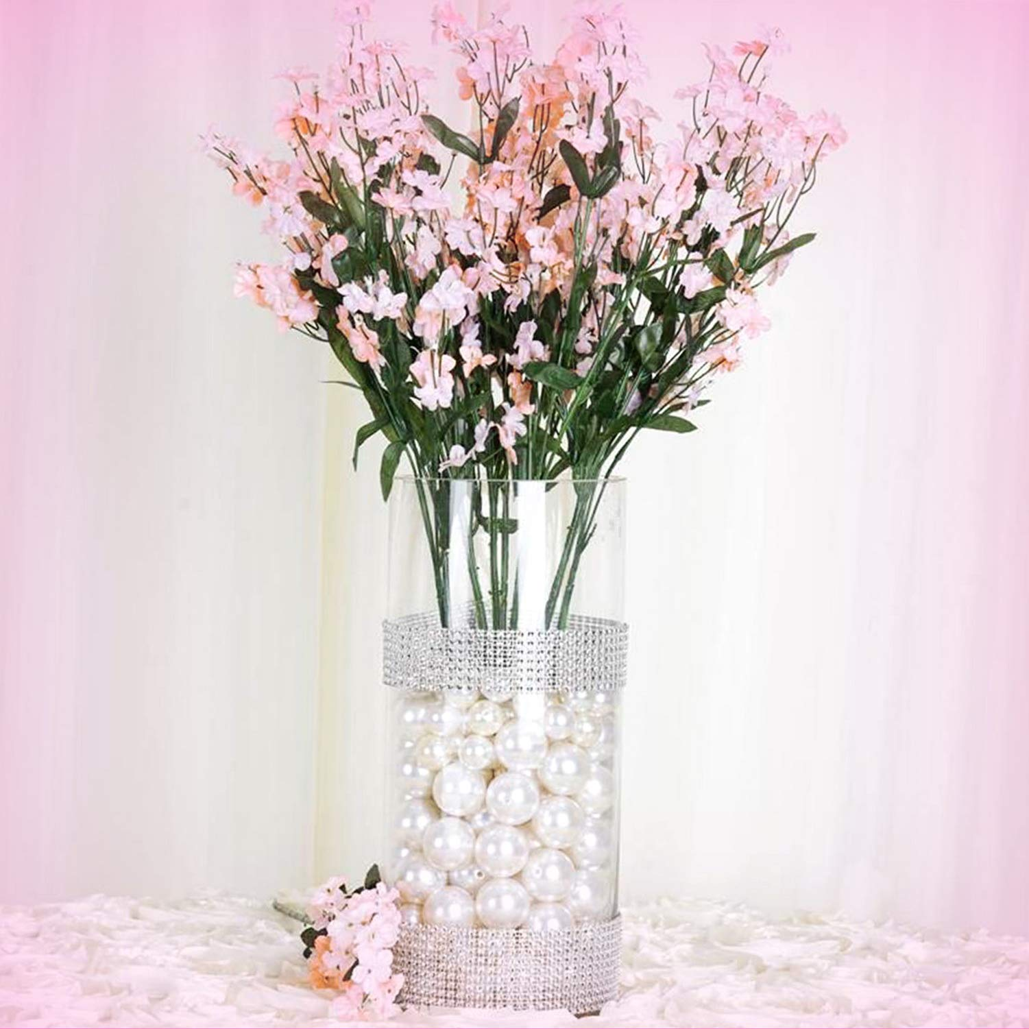 Inna-Wholesale Art Crafts New 384 Blush Silk Baby Breath Filler Decorating  Flowers Decorating Flowers Centerpieces Bouquets - Perfect for Any Wedding,  ...