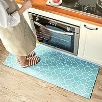 "Small Rug Mat Doormat Geometry Pattern Kids Room Kitchen Rug,17.7""x31.5"" Lattice Trellis Accent Area Rug Entry Way…"