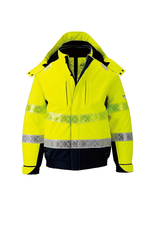 (ジーベック) XEBEC 全天候対応 高視認安全服 防水防寒ブルゾン (802-xe) 【M~5Lサイズ展開】 B0166P3EGO L|イエロー イエロー L