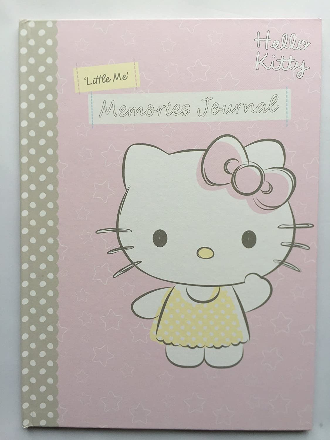 Hallmark Hello Kitty Baby First Five Years Keepsake Record Memory Book - New Baby / Christening Gifts