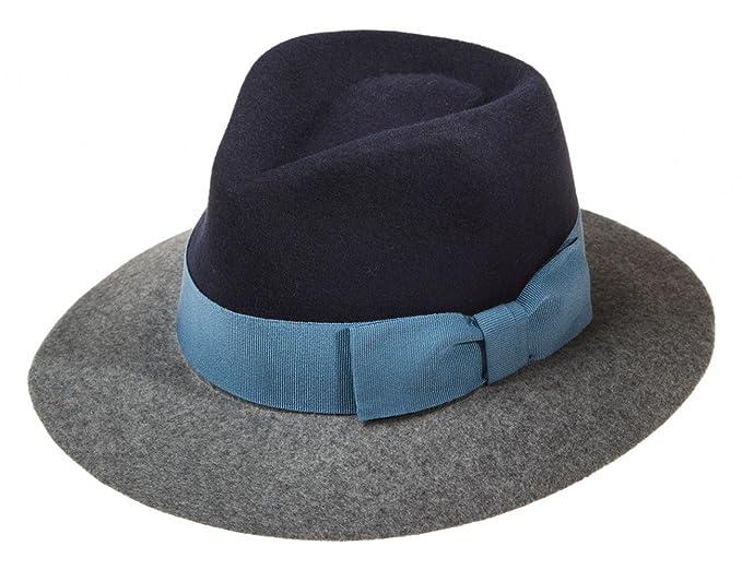 più economico sconto più basso prezzo accessibile Ledatomica Cappello Donna Feltro Stile Borsalino Falda Larga ...