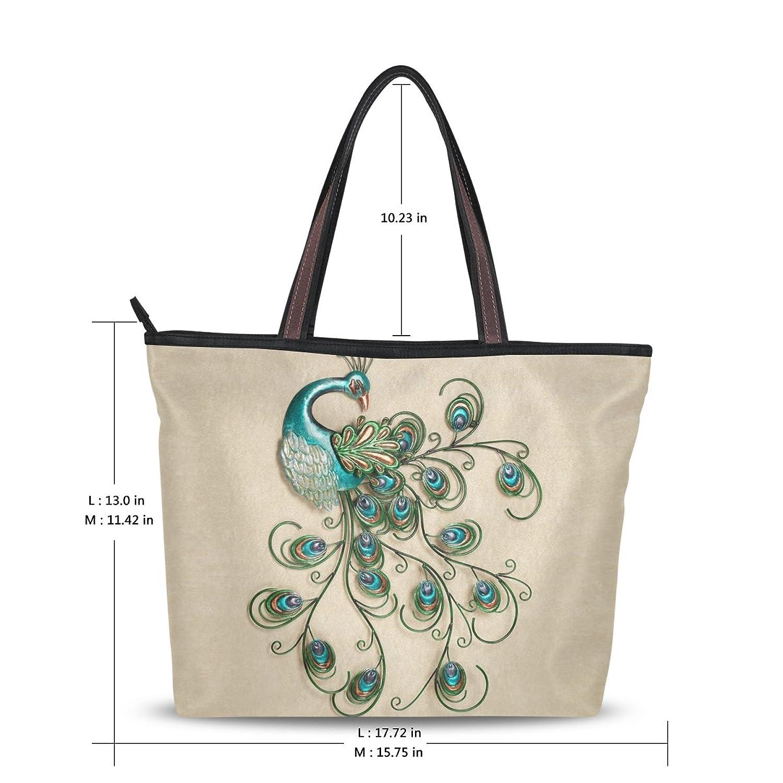 2016 Women's New Fashion Handbag Shoulder Bags,Pretty Peacock Pattern,Tote Bag