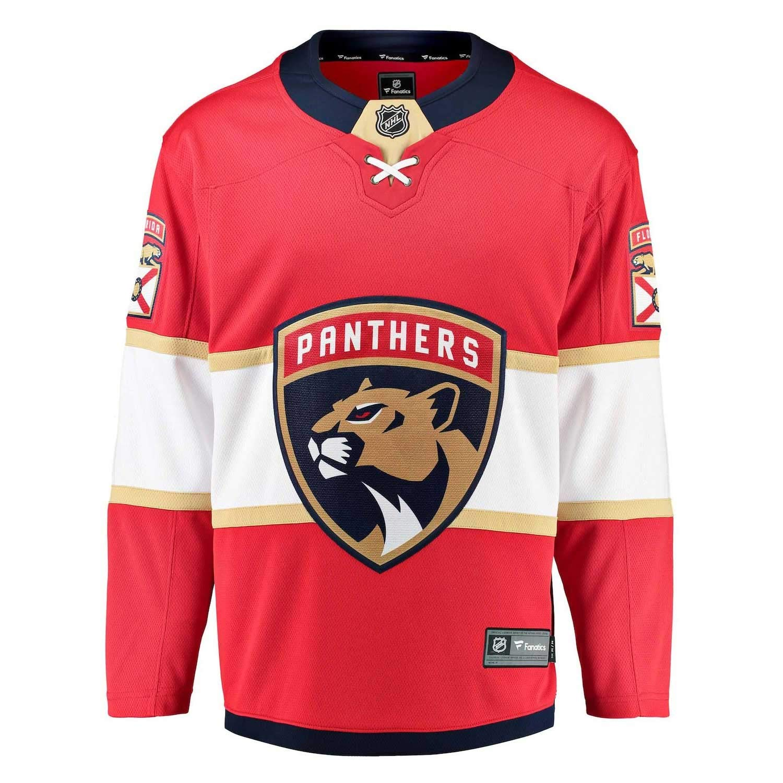 Fanatics Florida Panthers Breakaway NHL Trikot Home Rot