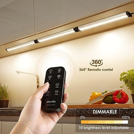 Ustellar Set di 6 Luci LED sottopensile, 1020 lumen Faretti LED ...