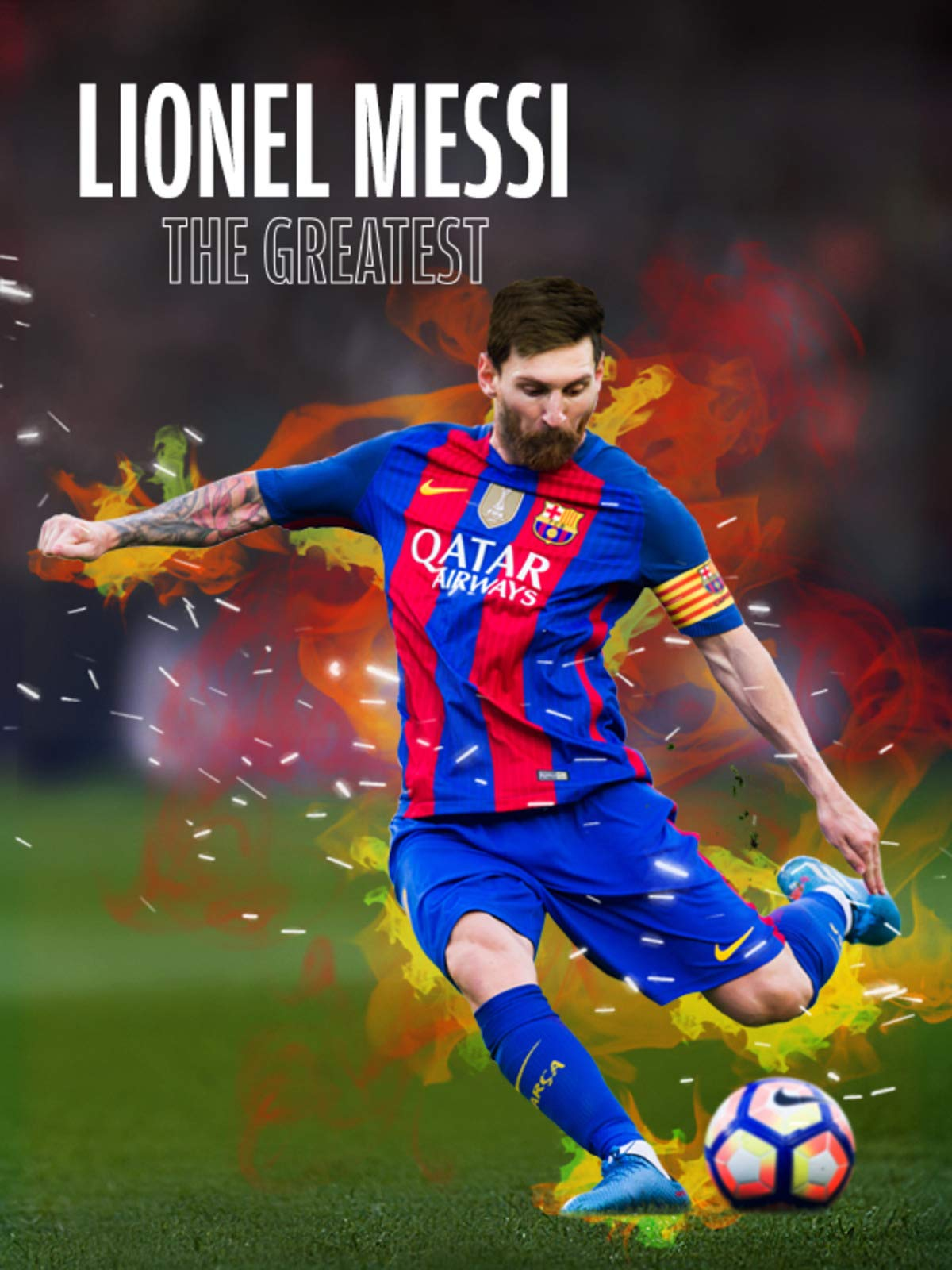 Watch Lionel Messi The Greatest Prime Video