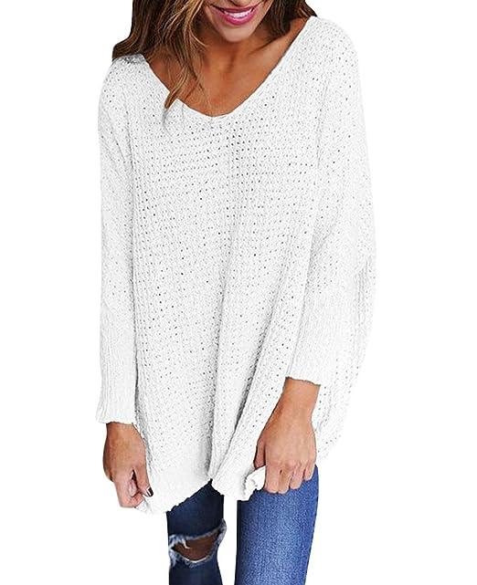 d5d5a972405 Jerseys de Punto Mujer Sueter Tejido Señora Suéter Mujeres Jersey Oversize  Largo Sweaters Largos Sueteres Tejidos